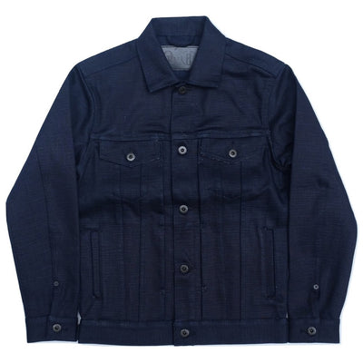 "ODJB008 18oz. ""Midnight Slub"" Type 3 Selvedge Denim Jacket"