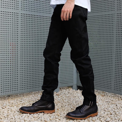 "ODJB004 ""Blackout"" Selvedge Jeans (High Tapered)"