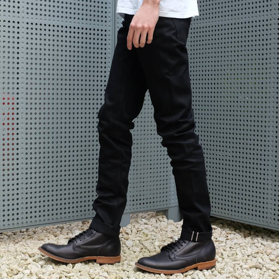 "ODJB009 ""Blackout 2.0"" Selvedge Jeans (Slim Tapered)"