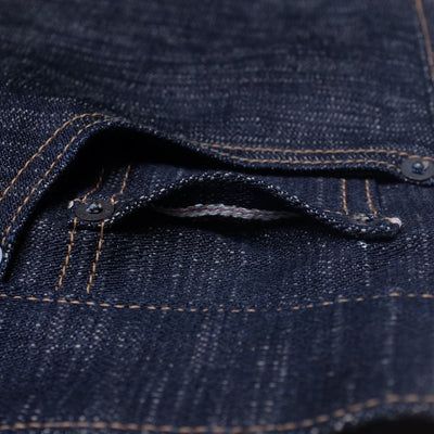 "ODJB014 14oz. ""Sand Slub"" Broken Twill Selvedge Jeans (High Tapered) - Okayama Denim Jeans - Selvedge"