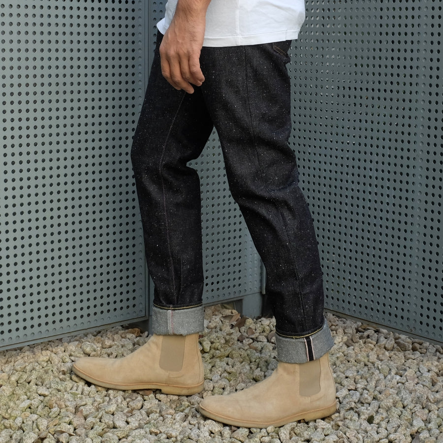 "[Pre-order] OD+MJ 15.7oz. ""Frost"" Nep Selvedge Jeans (Relax Tapered)"