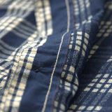 OD+MJ Indigo Check Selvedge Shirt
