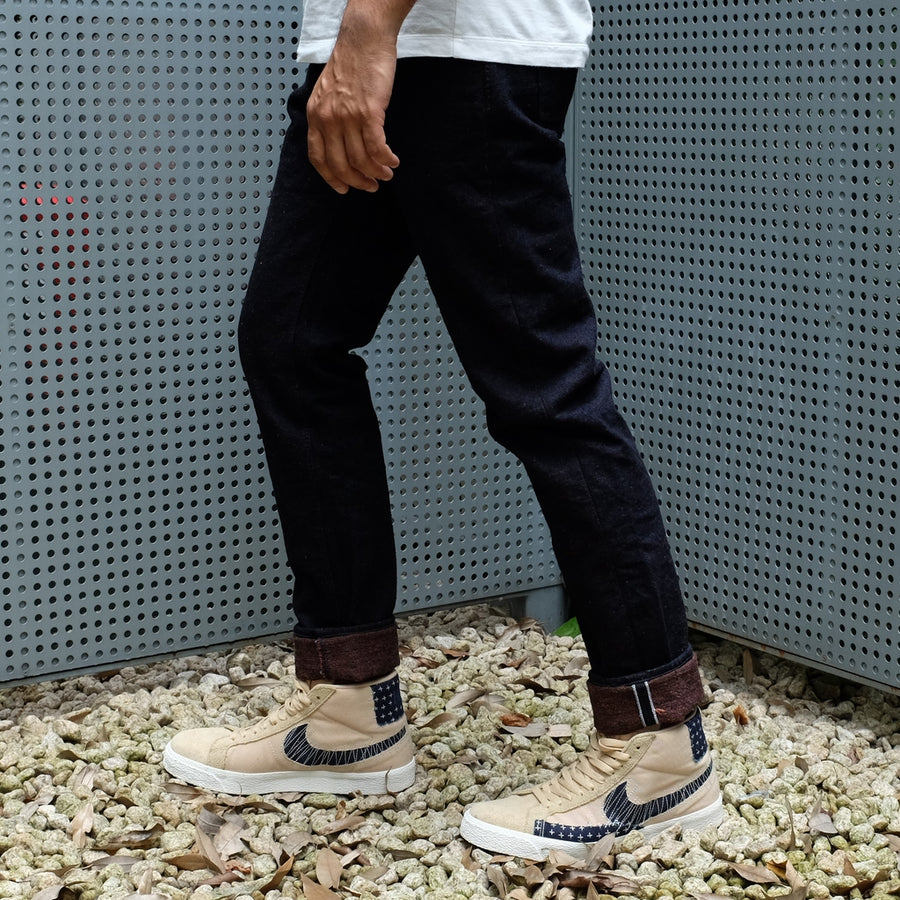 "[Pre-Order] OD+PBJ 18oz. ""Super Rough Kakishibu"" Selvedge Jeans (Relaxed Tapered)"