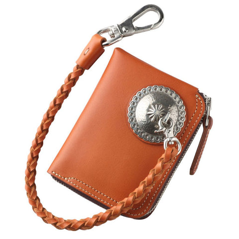 Pailot River Zipper Short Wallet