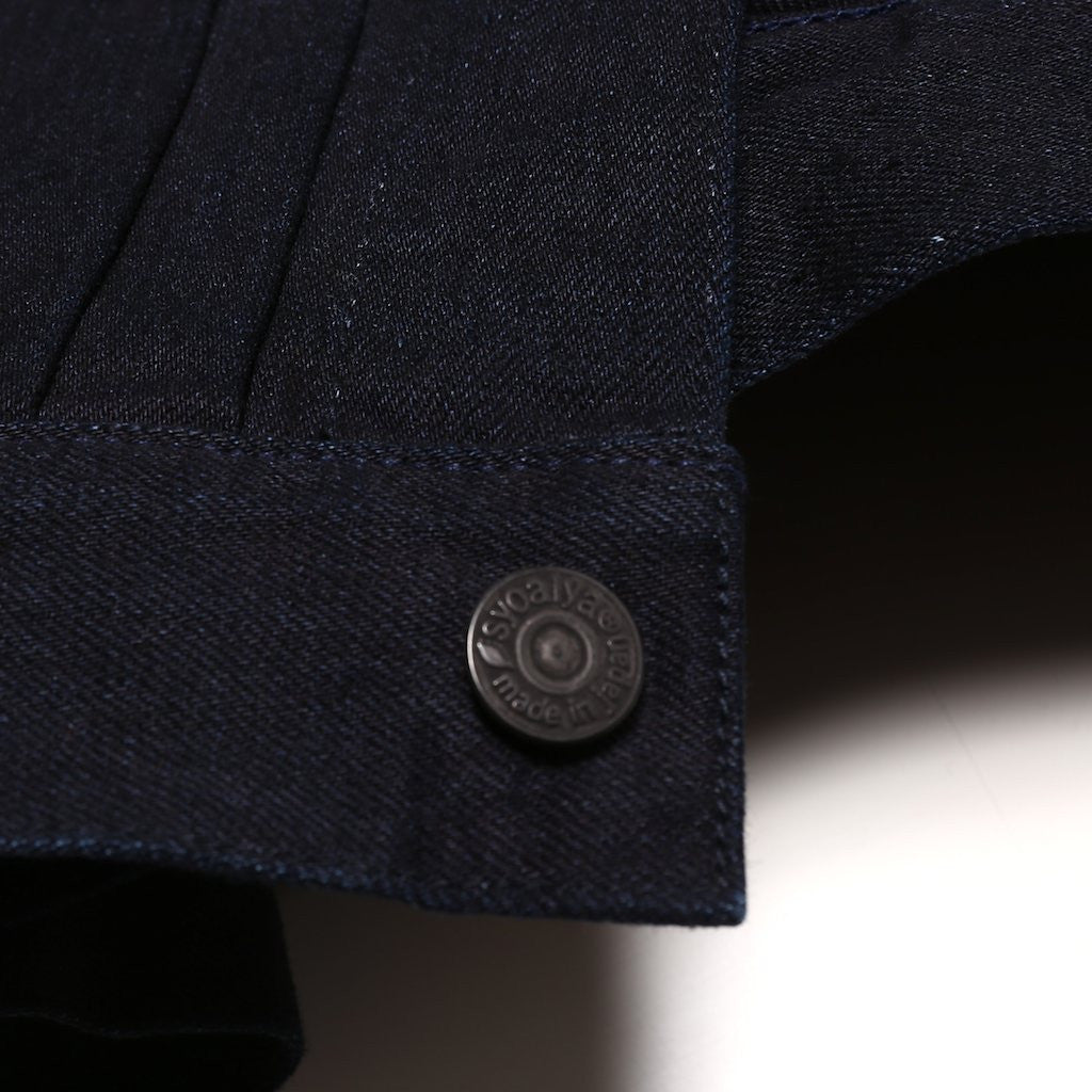 Pure Blue Japan 6066 Type II Deep Indigo Selvedge Jacket
