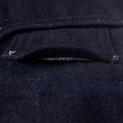 OD+PBJ 20th Anniversary 16oz. Deep Indigo Selvedge Jeans (Slim Tapered) - Okayama Denim Jeans - Selvedge