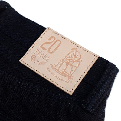 OD+PBJ 20th Anniversary 16oz. Deep Indigo Selvedge Jeans (Relaxed Tapered) - Okayama Denim Jeans - Selvedge