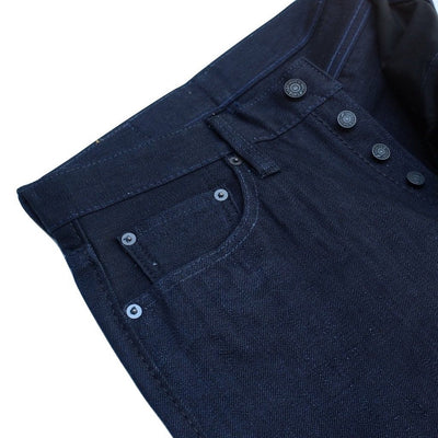 Pure Blue Japan XX-019-WID (Relaxed Tapered) - Okayama Denim Jeans - Selvedge