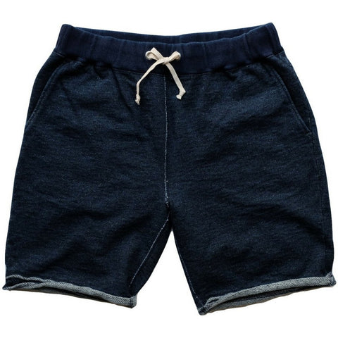 Pure Blue Japan Indigo Dyed Sweatshorts