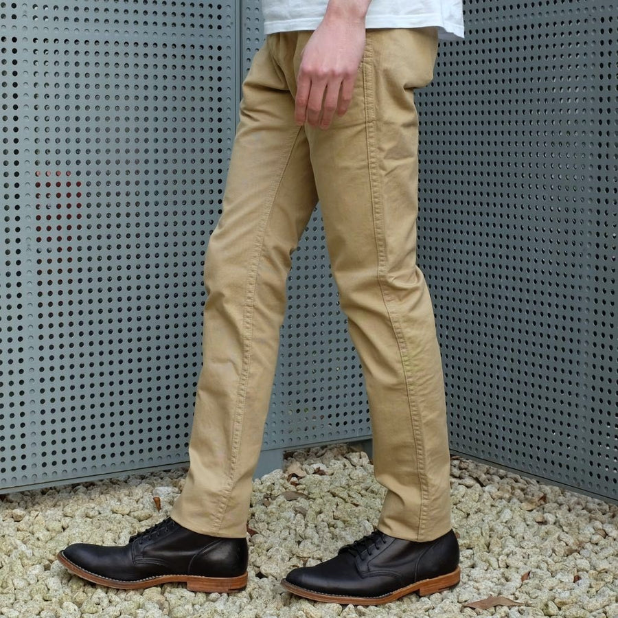 Pure Blue Japan Chino Pants (Beige)