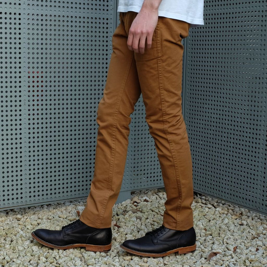 Pure Blue Japan Chino Pants (Camel)