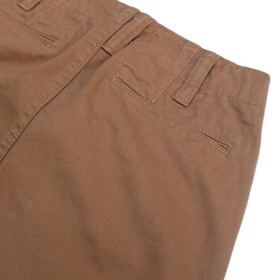 Pure Blue Japan Chino Pants (Camel) - Okayama Denim Pants - Selvedge