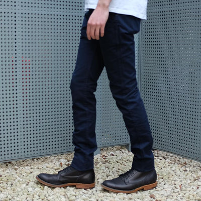 Pure Blue Japan Indigo Dyed Chino Pants