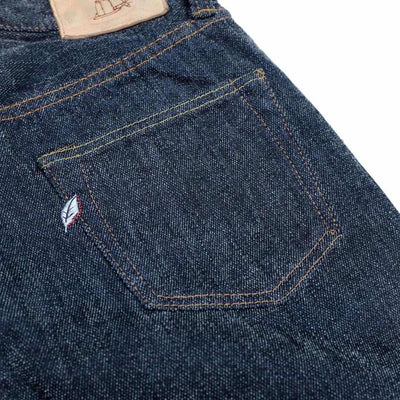 "Pure Blue Japan ""Chenille Denim"" Jeans (Relaxed Tapered) - Okayama Denim Pants - Selvedge"