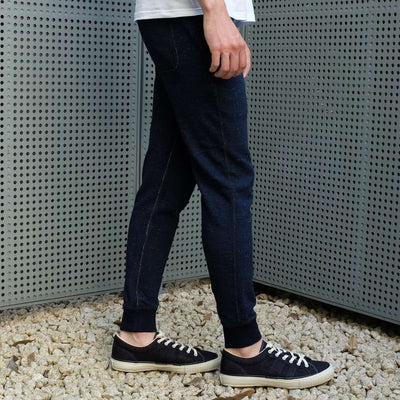 Pure Blue Japan Indigo Dyed Sweatpants