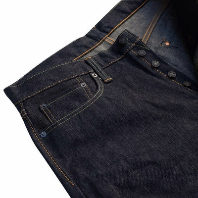 Pure Blue Japan 17oz-011 (Slim Tapered)