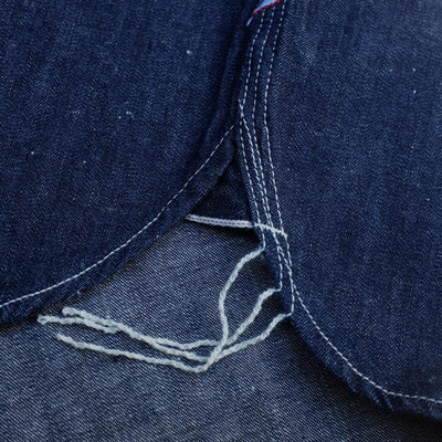 Pure Blue Japan Nep Selvedge Work Shirt
