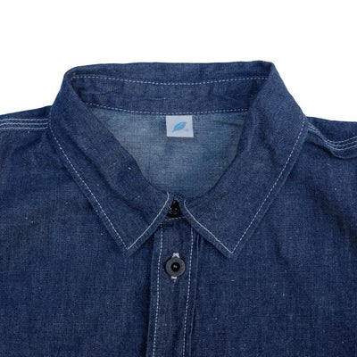 Pure Blue Japan Nep Selvedge Work Shirt - Okayama Denim Shirt - Selvedge