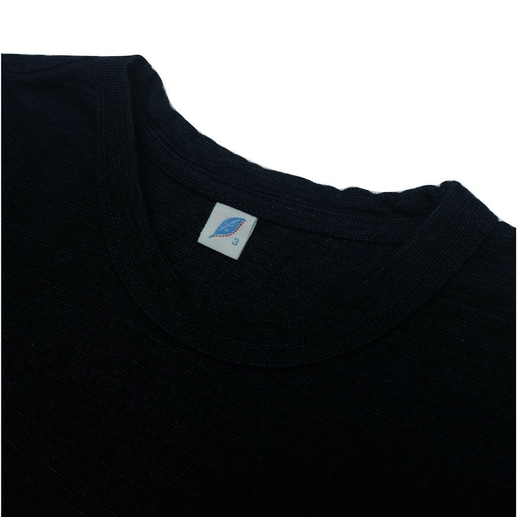 Pure Blue Japan Indigo Slub L/S Pocket Tee