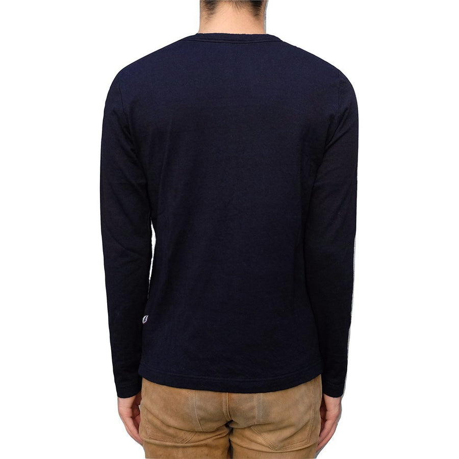 Pure Blue Japan Double Face Indigo LS Tee