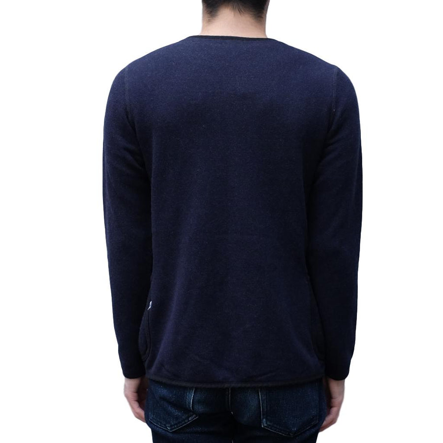 "Pure Blue Japan Indigo ""Raised"" Cardigan"