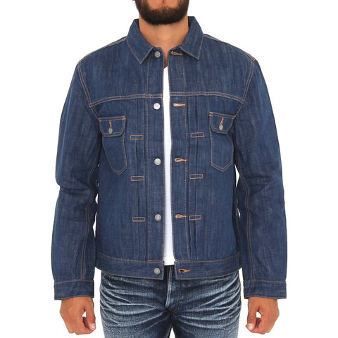 Pure Blue Japan 6077 Type II Natural Indigo Selvedge Denim Jacket