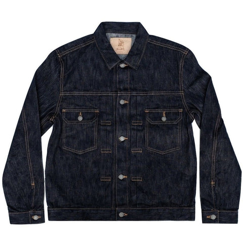 Pure Blue Japan 17.5oz Natural Indigo Selvedge Jacket
