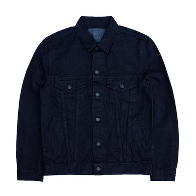 Pure Blue Japan 6093 18oz. Type III Indigo x Black Selvedge Jacket