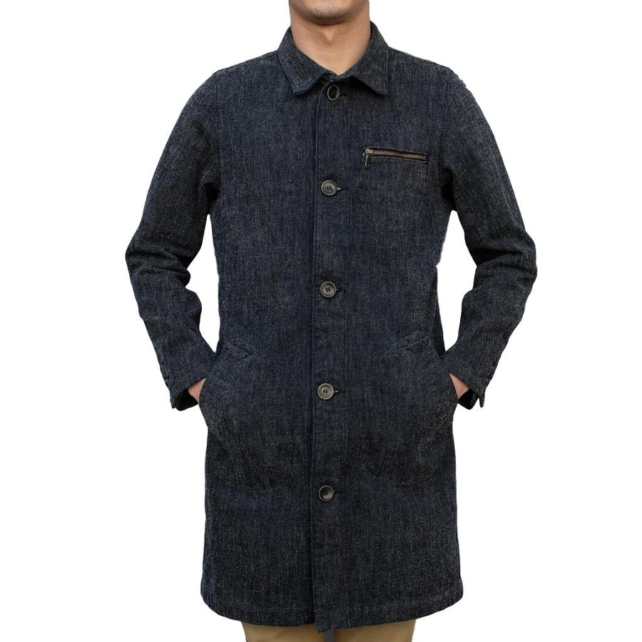 "Pure Blue Japan ""Chenille Denim"" Coat"