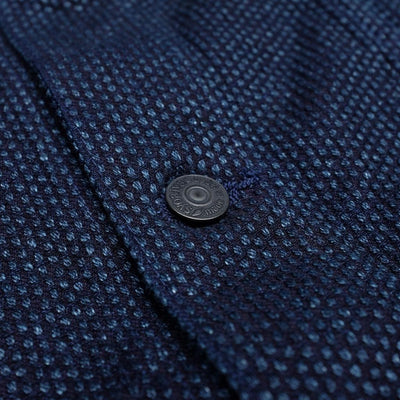 Pure Blue Japan 6097 Type III Indigo Sashiko Selvedge Jacket