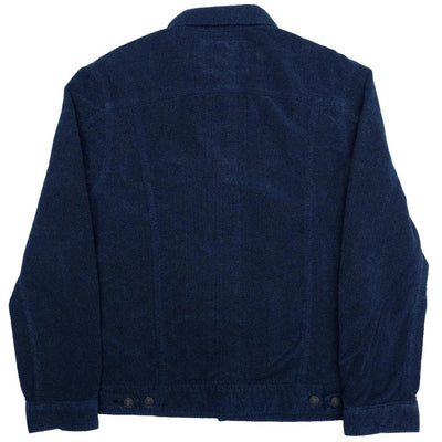 Pure Blue Japan Indigo Dyed Towel Denim Type II Jacket