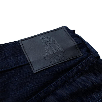 Pure Blue Japan AI-013-WID 17.5oz. Double Natural Indigo Selvedge Jeans (Slim Tapered)