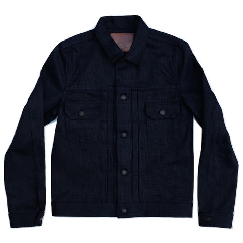Pure Blue Japan Double Natural Indigo Type II Selvedge Jacket
