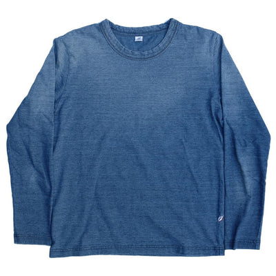 Pure Blue Japan Sunburned Indigo LS Tee