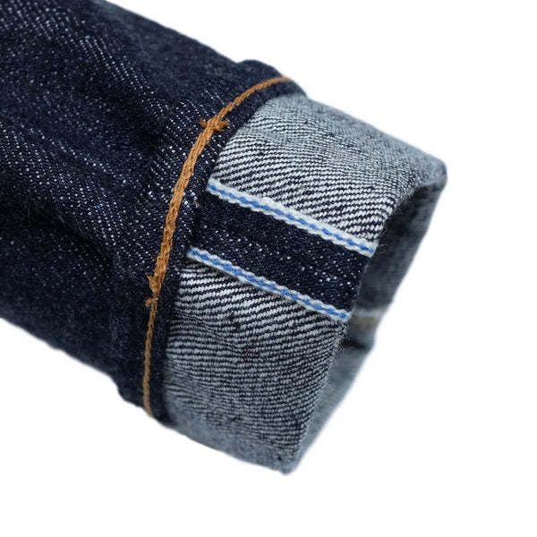 Pure Blue Japan NP-013 Nep Selvedge Jeans (Slim Tapered