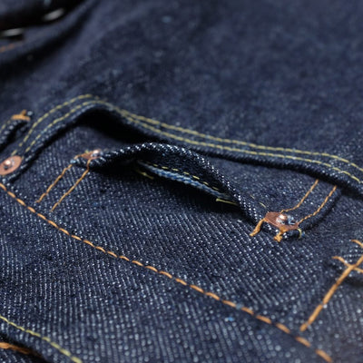 Pure Blue Japan NP-019 (Relaxed Tapered) - Okayama Denim Jeans - Selvedge