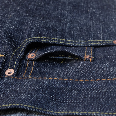 Pure Blue Japan SN-019 (Relaxed Tapered) - Okayama Denim Jeans - Selvedge