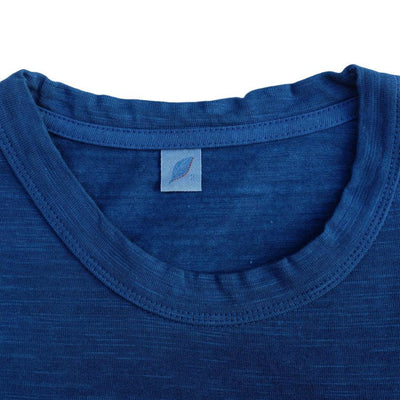 Pure Blue Japan Natural Indigo Dyed Tee - Okayama Denim T-Shirts - Selvedge