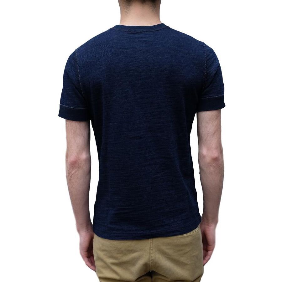 Pure Blue Japan Indigo Slub S/S Henley