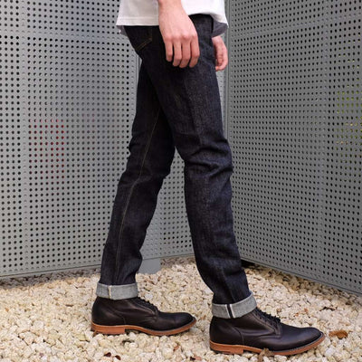 Pure Blue Japan XX-019 14oz. (Relaxed Tapered) - Okayama Denim Jeans - Selvedge