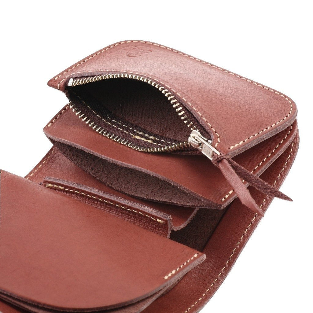 Redmoon Midline Short Wallet (Brown)