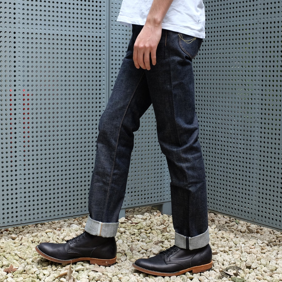 Samurai Jeans S004JP Yamato 15oz. Selvedge Denim Jeans (Slim Tapered)