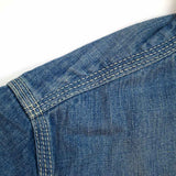 Momotaro 8oz. Washed Selvedge Jail Pocket Shirt