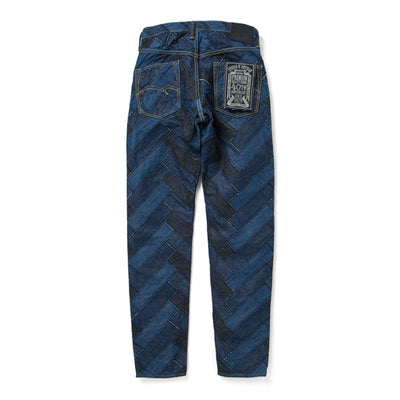 "Studio D'Artisan SP-052 40th Anniversary ""Arts"" Denim Jeans (Relax Tapered)"
