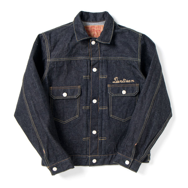 Studio D'Artisan SP-059 40th Anniversary Logo Stitch Type 2 Selvedge Denim Jacket