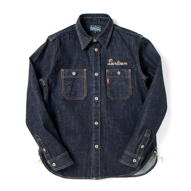 Studio D'Artisan 40th Anniversary Logo Stitch Selvedge Work Shirt