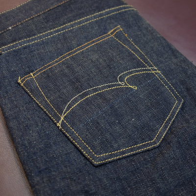 "Studio D'Artisan 40th Anniversary ""New Leaves"" Selvedge Jeans"