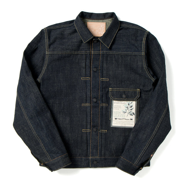"Studio D'Artisan 40th Anniversary ""New Leaves"" Selvedge Jacket - Okayama Denim Jacket - Selvedge"