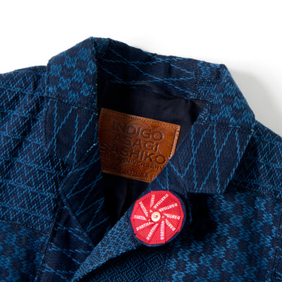 "Studio D'Artisan SP-073 40th Anniversary ""Arts"" Tailored Jacket - Okayama Denim Jacket - Selvedge"