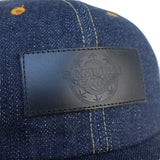 Samurai Jeans SJ201WC18 16oz. Selvedge Denim 6-Panel Cap - Okayama Denim Accessories - Selvedge